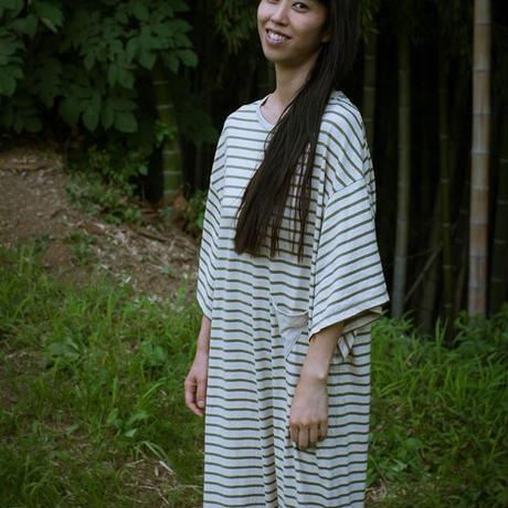 Wide Sleeve Dress (杢Green)