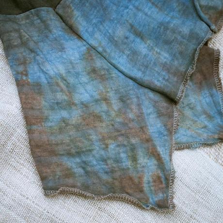Rebirth Tee  Skirt (Blue×Red)