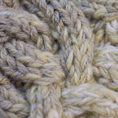 Corn Head Knit Cap (Yellow)
