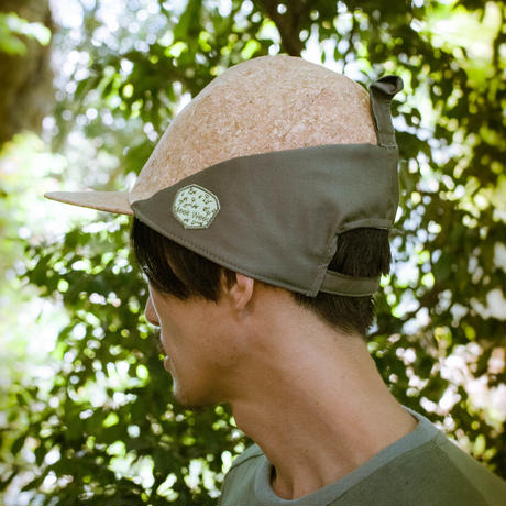 Baseball Cap (Cork × Green ) / Meek Weed