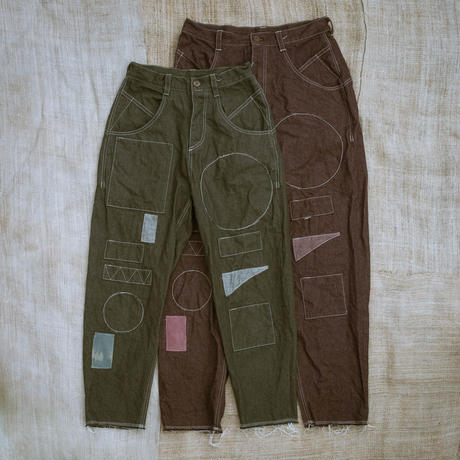 Ballon Silhouette Pants (Green)