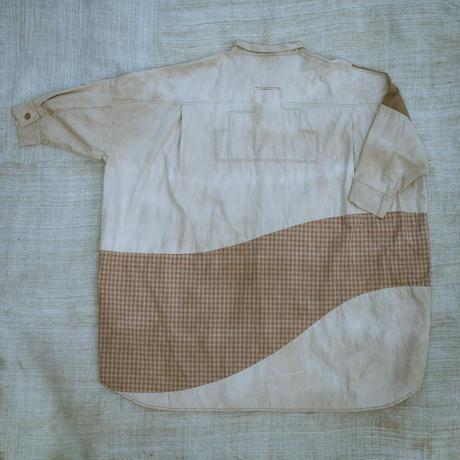 牧歌的Shirt (ヤマモモ  ベージュ)