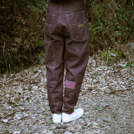 Ballon Silhouette Pants (Mauve)