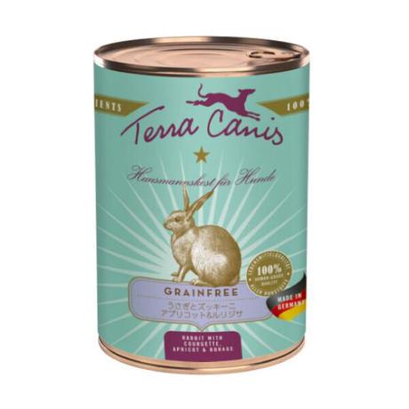 テラカニス グレインフリー 穀物不使用 ウサギ肉400g