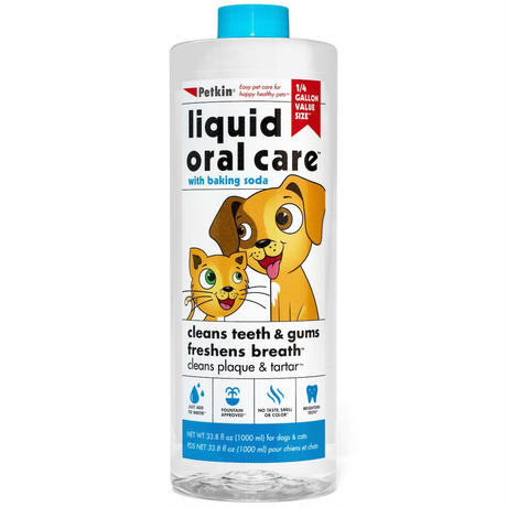 【大容量】飲み水に入れるデンタル液1000ml(ペットキン Petkin)