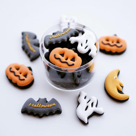 Halloween cookies case ※10月15日〜10月30日の発送日指定商品です。