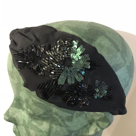 Namrata Joshipura Head Band ヘアアクセサリー black greenemerald