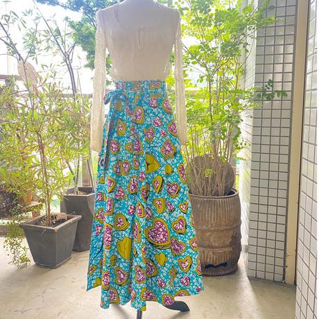Bouncy Skirt  バウンシースカート ラップスカート  arrow/heart B