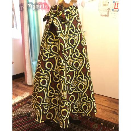 Bouncy Skirt  バウンシースカート ラップスカート yellow ropes