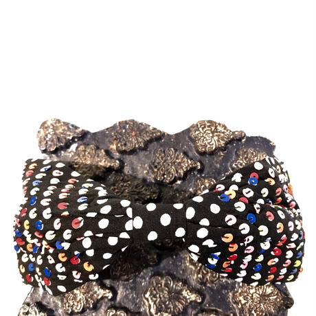 Namrata Joshipura Head Band ヘアアクセサリー  multi dot
