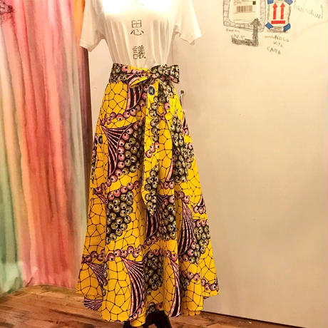 Bouncy Skirt  バウンシースカート ラップスカート yellow