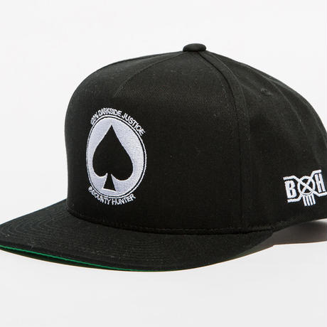 BxH SPADE Five Panel Snap Back Cap