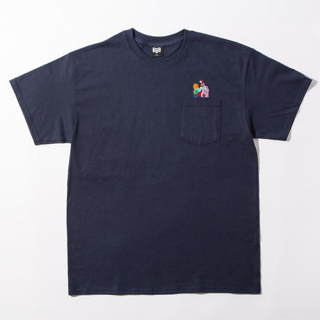 BxH Pogo Embroidery Pocket Tee