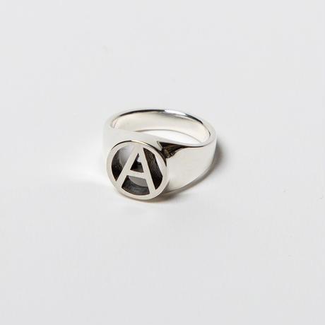 BxH CIRCLE A Pinky Ring