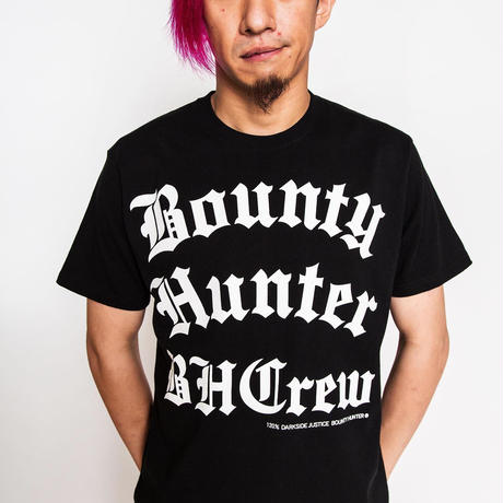BxH BOUNTY HUNTER CREW LETTER Tee