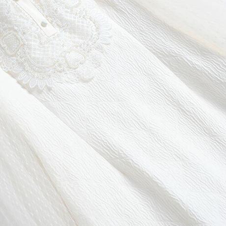 Wedding like white lace design dress(No.030808)