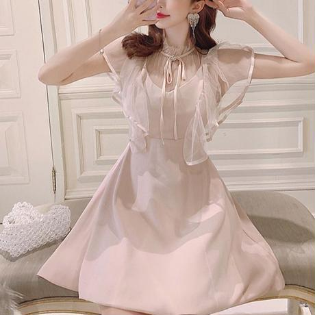 Millefeuille sleeve fairy dress(No.300695)