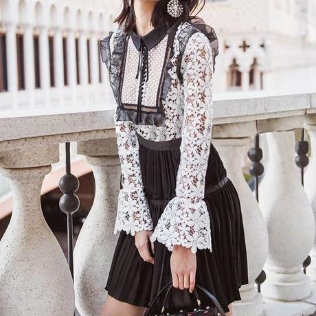 Pleats skirt Onepiece (No.300256)