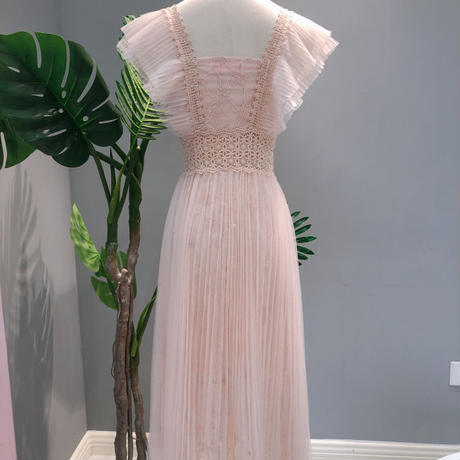 Fairy tulle long dress(No.300650)