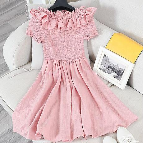 2way-Shoulder Sweet Lady Dress (No.300230)