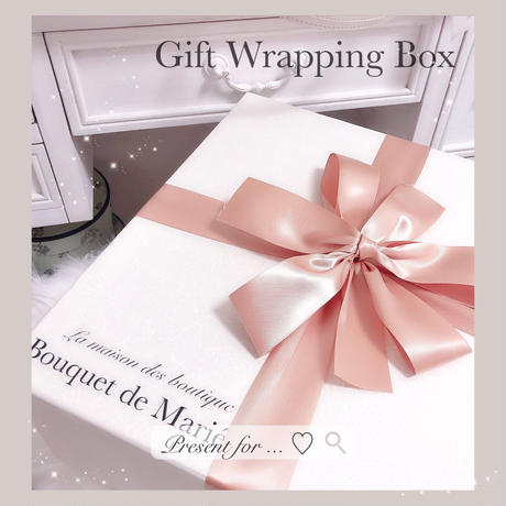 Renewal ! ♡gift wrapping♡box type