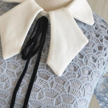 blue cutting collar OP(No.300609)