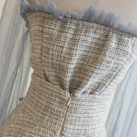 tweed frill set-up(No.300590)