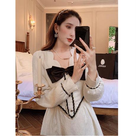 Classic design princess line dress(No.030910)