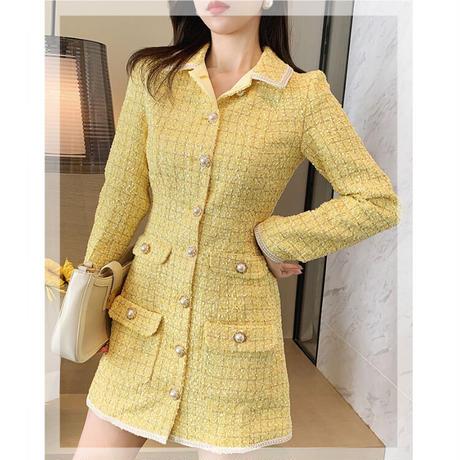 Vitamin tweed idol look dress(No.301841)