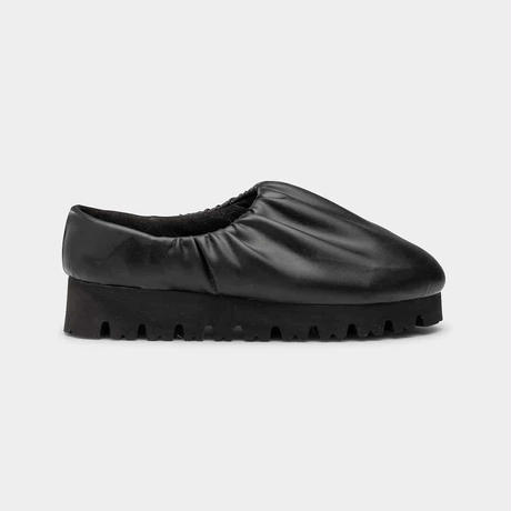 YUME YUME / LOW CAMP SHOE-NAWA / BLACK