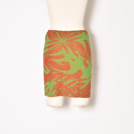 paloma wool / AERI / Knitted Mini Skirt / Orange