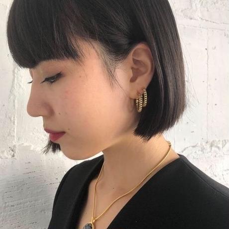 shiki / ロープピアス / GOLD