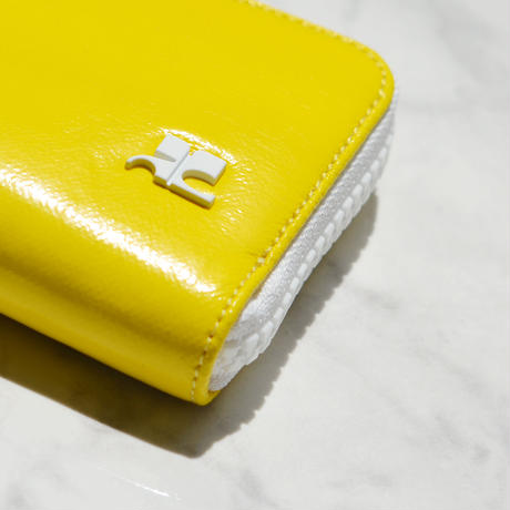 Courrèges / VINYLE LOGO WALLET / SMALL