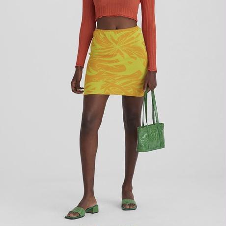 paloma wool / AERI / Knitted Mini Skirt / Yellow