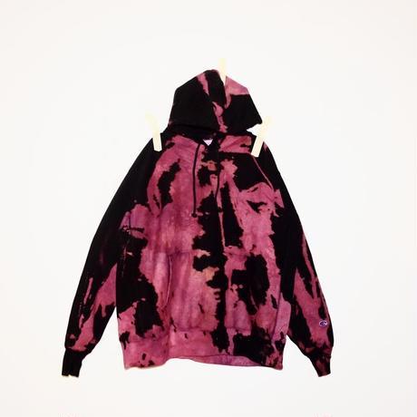 Double Color Hoodie / Champion Reverse Weave Bubblegum
