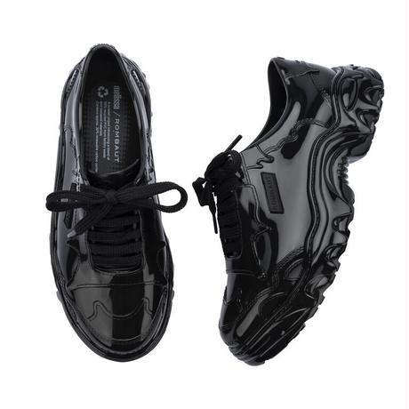 ROMBAUT × melissa / Boccaccio Melting Sneakers / Black