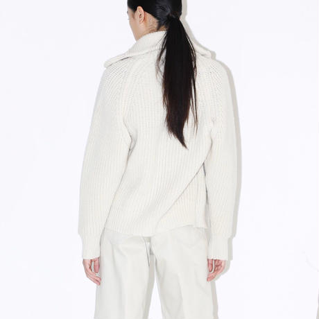 TOGA / KNIT G-JACKET LEE SP / OFF WHITE