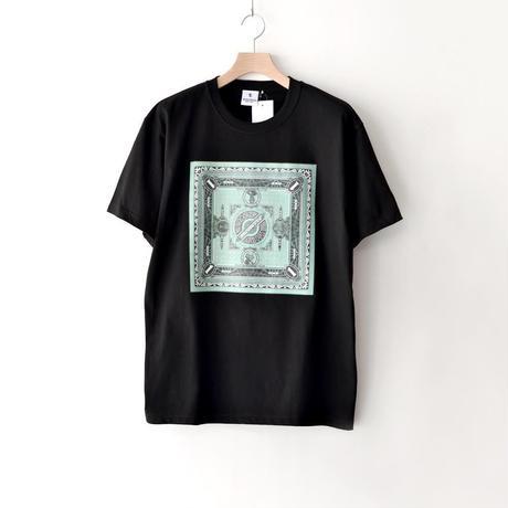 KOTAOKUDA / MONEY BANDANA GREEN BOX / BLACK