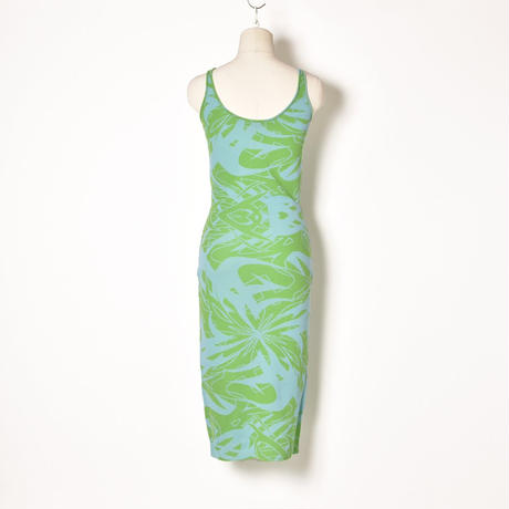 paloma wool / SCORPIA / Ring and Side Cut-Out Dress / Green