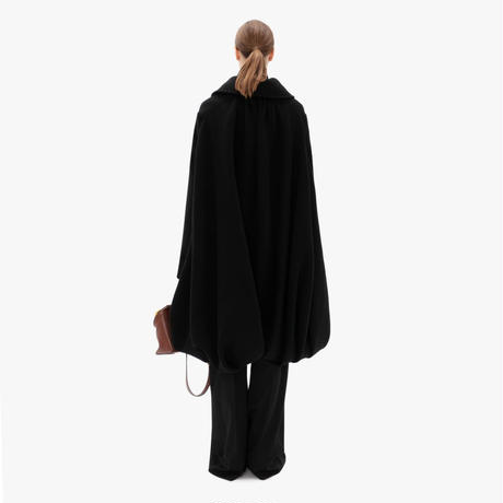JW ANDERSON / DRAPED BACK PEACOAT