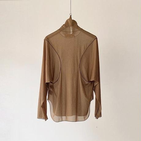 PONT / SEE-THROUGH TOPS / OCHER