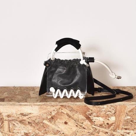 【EXCLUSIVE】 SCOTRIA / STRAP BERG BAG / BLACK&WHITE