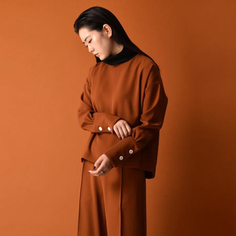Plan C / BLOUSE / TERRACOTTA