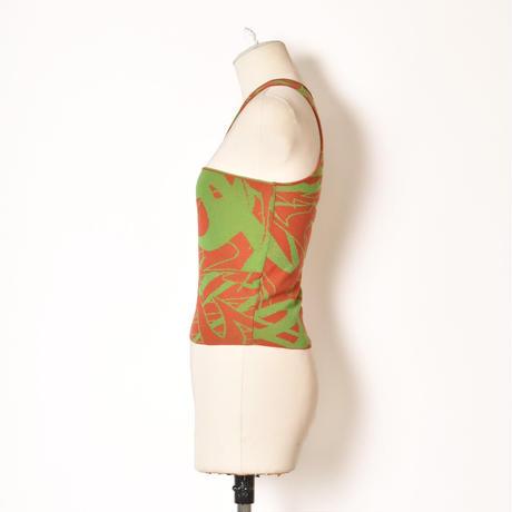 paloma wool / PONT / Asymetric Knit Crop Top / Orange