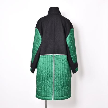 Plan C / Wool Panel Coat / Dark Gray