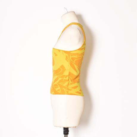paloma wool / PONT / Asymetric Knit Crop Top / Yellow