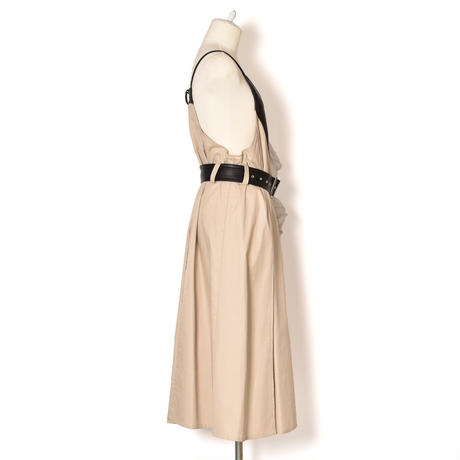 SHIROMA / Vegan Leather Camisole Apron