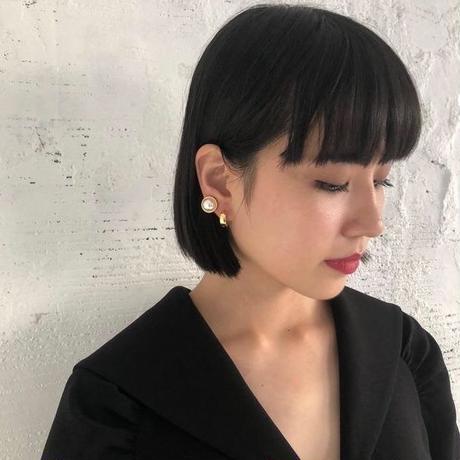 shiki / パールイヤリング /  GOLD