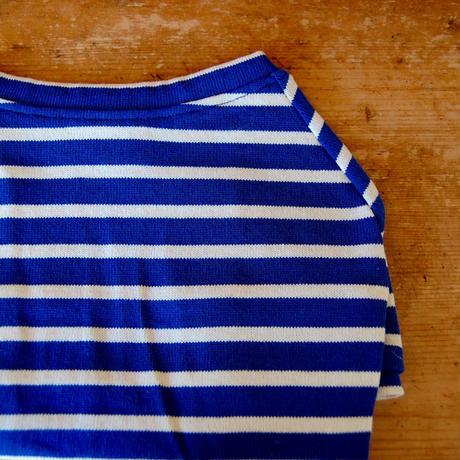 バスクボーダーシャツ(ブルー×ホワイト)