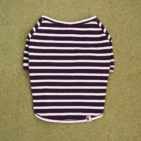バスクボーダーシャツ(ネイビー×オフホワイト)
